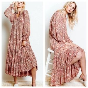 Free People | Feeling Groovy Maxi Dress